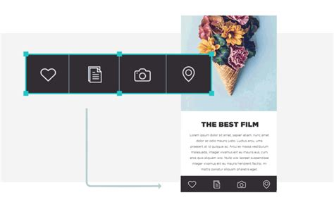 responsive design mobile width the best responsive design tool justinmind s new release
