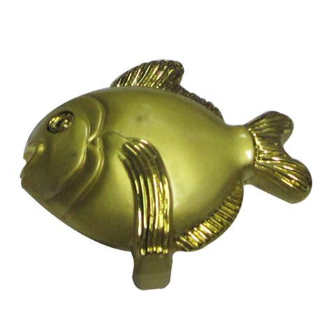 Fish Cabinet Knobs by Buy Fish Cabinet Knob Matt Gold Finish 40x40x25mm