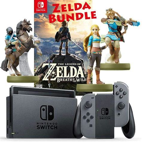 Nintendo Switch Gray The Legend Of Breath Of The nintendo switch console gray right left gray cons