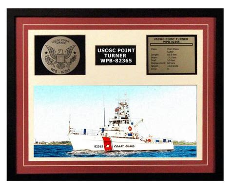 turner industries point comfort tx uscgc point turner wpb 82365 framed coast guard ship