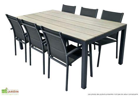 table jardin leclerc table de jardin plastique leclerc