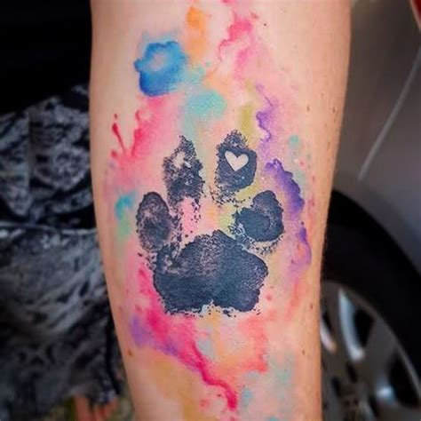 watercolor tattoo dog 25 best ideas about watercolor on