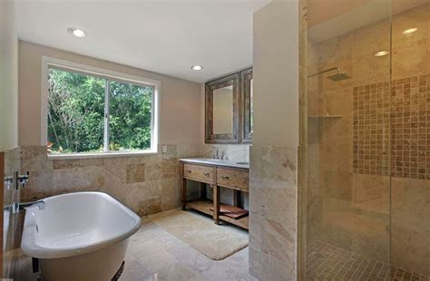 Travertine Shower Ideas (Bathroom Designs)   Designing Idea