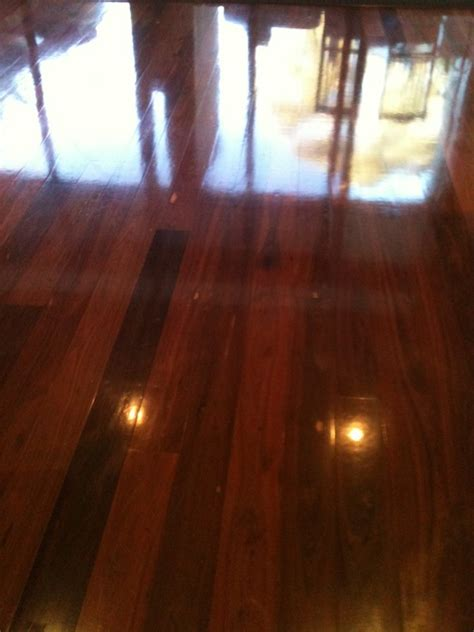 Buffing Waxed Floors by Wood Floor Waxing Sealing Polishing Sydney Brisbane