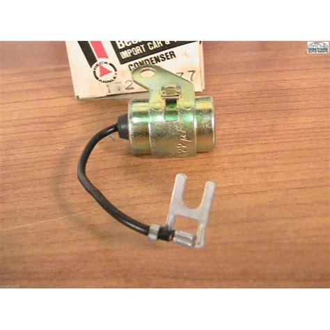 mitsubishi ignition capacitor dodge colt plymouth arrow challenger saporro ignition condenser 1978
