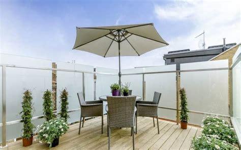 Terrassen Sichtschutz Glas 297 by Dachterrasse Gestalten Tipps Und 42 Tolle Ideen Haus