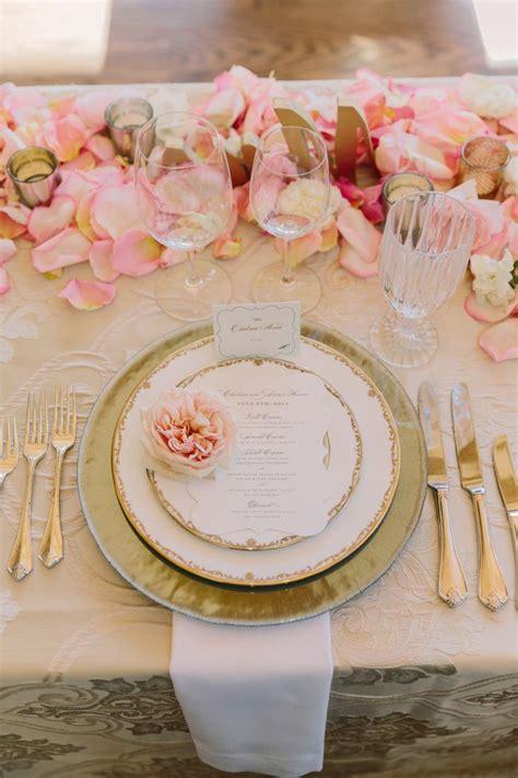 blush gold winery wedding pink gold wedding wedding