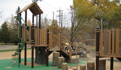 Landscape Structures Treehouse Rossdale Community League Habitat Systems