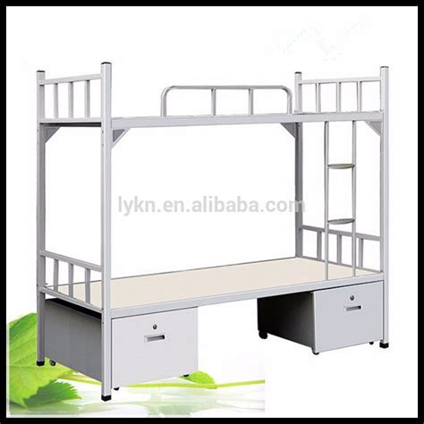 Wholesale Metal Heavy Duty Adult Iron Steel Double Bunk Heavy Duty Bunk Beds For Adults