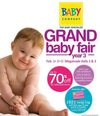 sm department store baby section occasions of joy baby company s grand baby fair 3