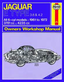 Jaguar Workshop Manual Jaguar E Type 61 72 Haynes Owners Workshop Manual