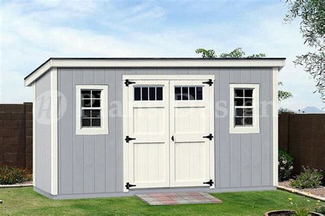 Storage Shed Material List