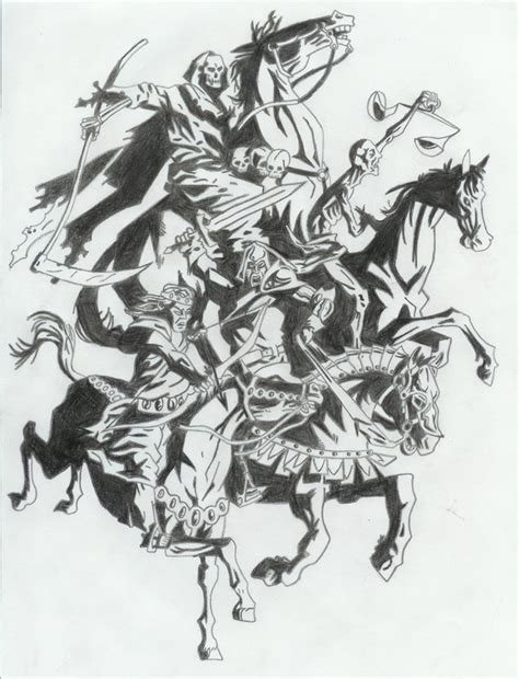 the four horsemen by certifiednerd on deviantart