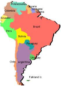 labeled south america map clipart best