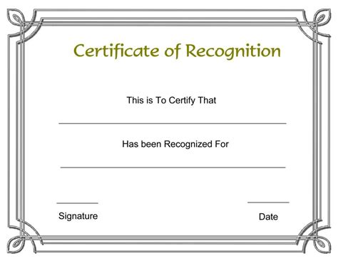 free printable employee recognition certificates