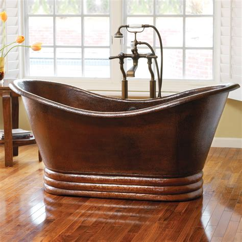 bathtub vintage copper bathtubs turning your bathroom into an antique