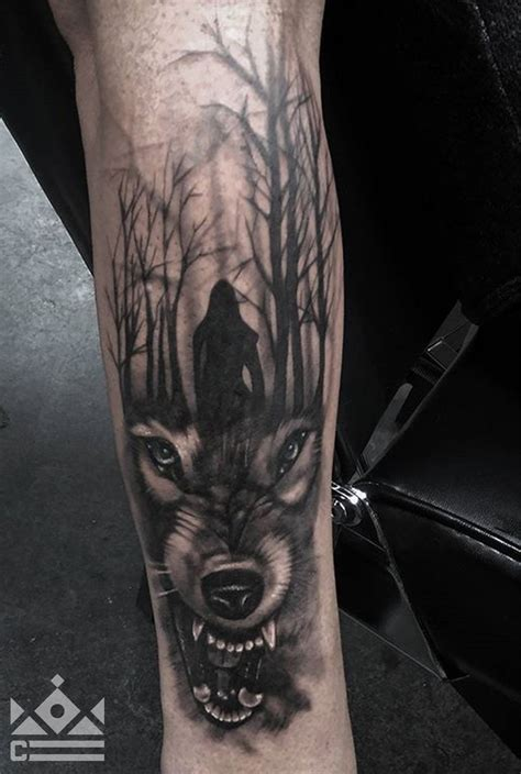 wolf forest tattoo tattoo collections