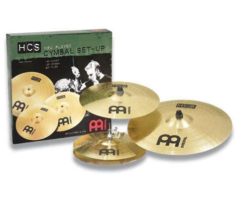 Meinl Cymbal Set Hcs14162010s Paket Meinl Cymbal Hcs Series meinl hcs cymbal pack mcquade musical instruments