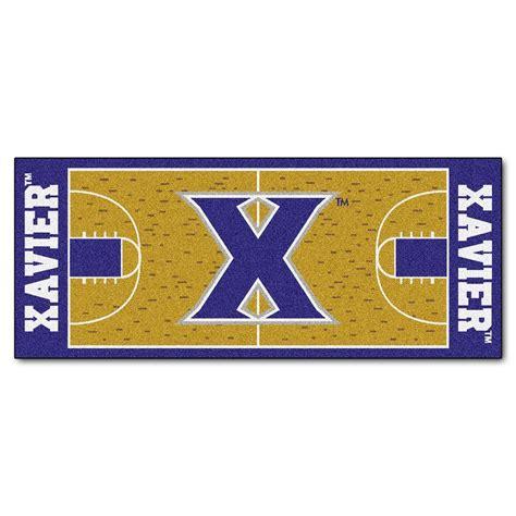 basketball court rug fanmats xavier 2 ft 6 in x 6 ft basketball court rug runner rug 9443 the home depot