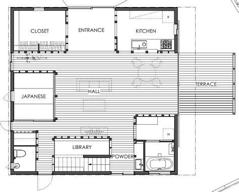 japanese home design floor plan japanese house has rooms set in wooden boxes tass
