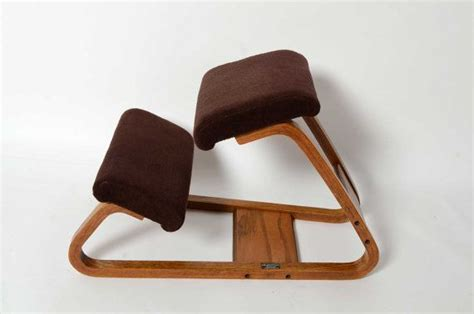 ergonomic kneeling chair mid century modern bent wood