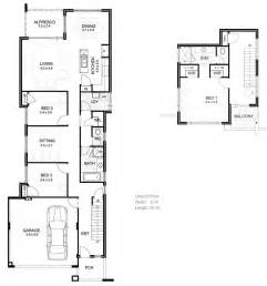 Narrow Lot House Plan by Narrow Houseplans Joy Studio Design Gallery Best Design
