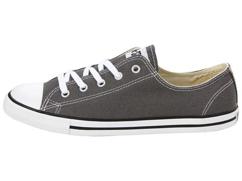 Hdt Shoes Converse All Low Grey Box converse chuck 174 all 174 dainty ox in gray lyst