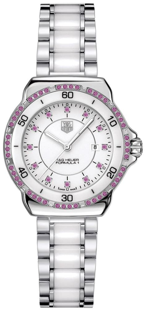 tag heuer ladies formula 1 watch wah1319 ba0868 tag heuer formula one ladies watch