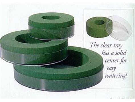 Vase Rental Aquafoam Wet Floral Foam Designer Rings With Tray