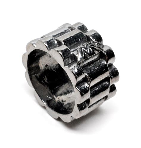 Black Rhodium Rollex Ring