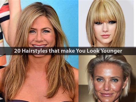 easy hairstyles that make you look younger short haircuts to make you look older haircuts models ideas
