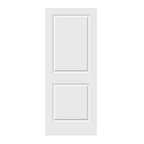 2 panel interior doors home depot jeld wen carved c2020 smooth 2 panel primed mdf interior door slab 306697 0 the home depot