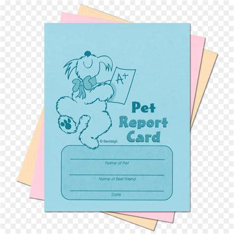 Pet Grooming Report Card Template by Hermosa Plantilla De Tarjeta De Informe De Perro Adorno