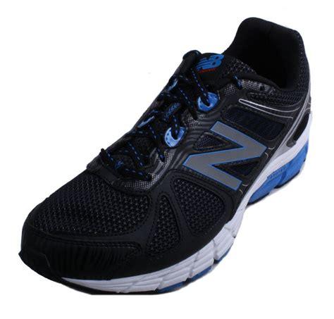 New Wte 4b 2e new balance m670bb1 mens black blue white athletic sneakers 2e width ebay