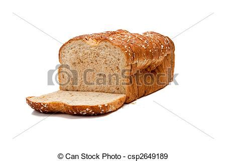 whole grains svenska stock photographs of a loaf of whole grain bread on white