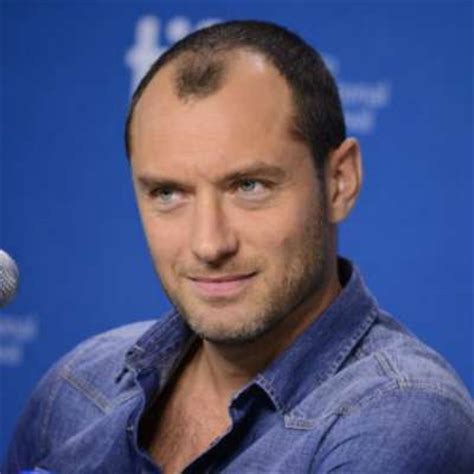 jude law s hair loss the idle man