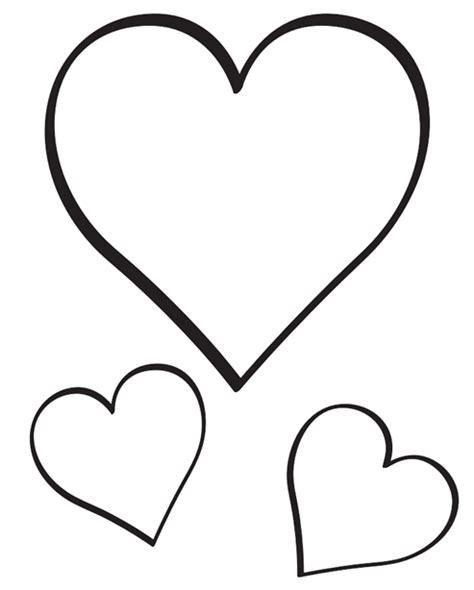 imagenes de corazones sin color imagenes de corazones para colorear