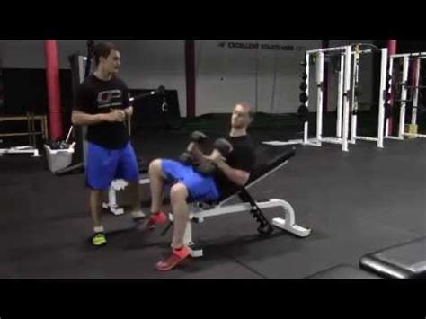 incline bench 30 degrees 30 degree incline dumbbell bench press youtube
