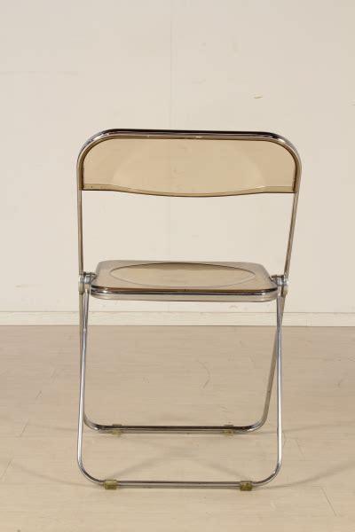 sedie plia castelli gruppo di otto sedie plia castelli sedie modernariato