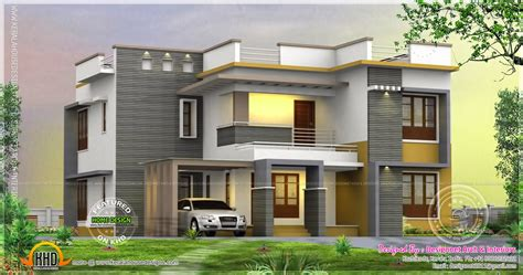 home design for 2500 sq ft 4 bedroom 2500 sq ft house rendering kerala home design