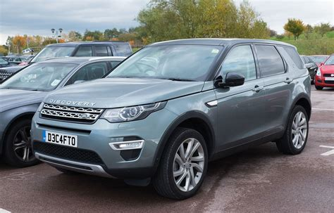 luxury land rover land rover discovery sport wikipedia
