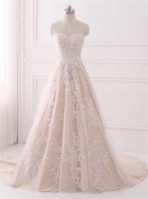 A line Wedding Dresses,Lace Wedding Dress,Elegant Bridal