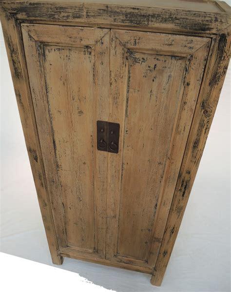 natural wood armoire tall natural cabinet terra nova custom pieces