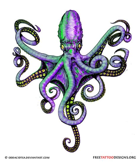 squid tattoo designs 66 octopus designs