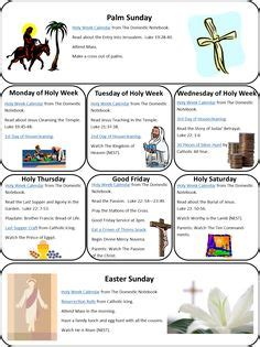 basic christian easter 10 day timeline devotional jesus 1000 images about re holy week on pinterest holy week