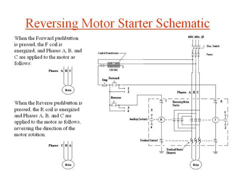 how to wire a motor starter with reversing wiring diagram