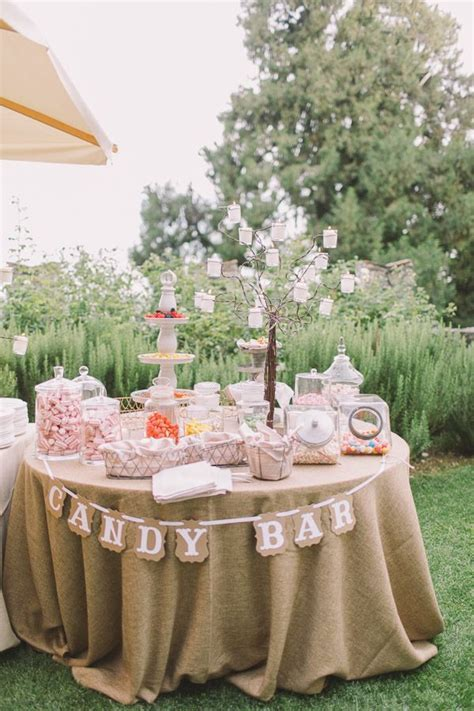 Candy Bars For Weddings