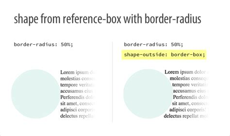 making rectangle css getting started with css shapes wrapping content around