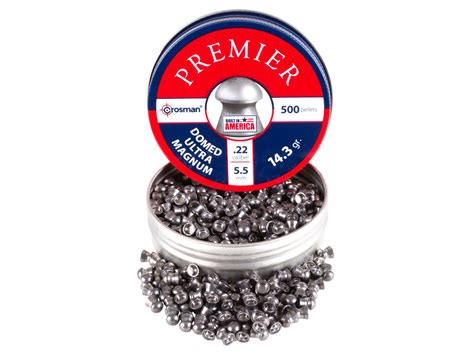 Best Quality Premier Dome Ultra Magnum 22 crosman premier 22 cal 14 3 grains domed 500ct air gun pellets