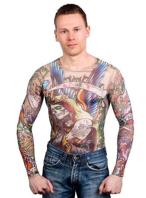 tattoo sleeve shirt gangsta shirt